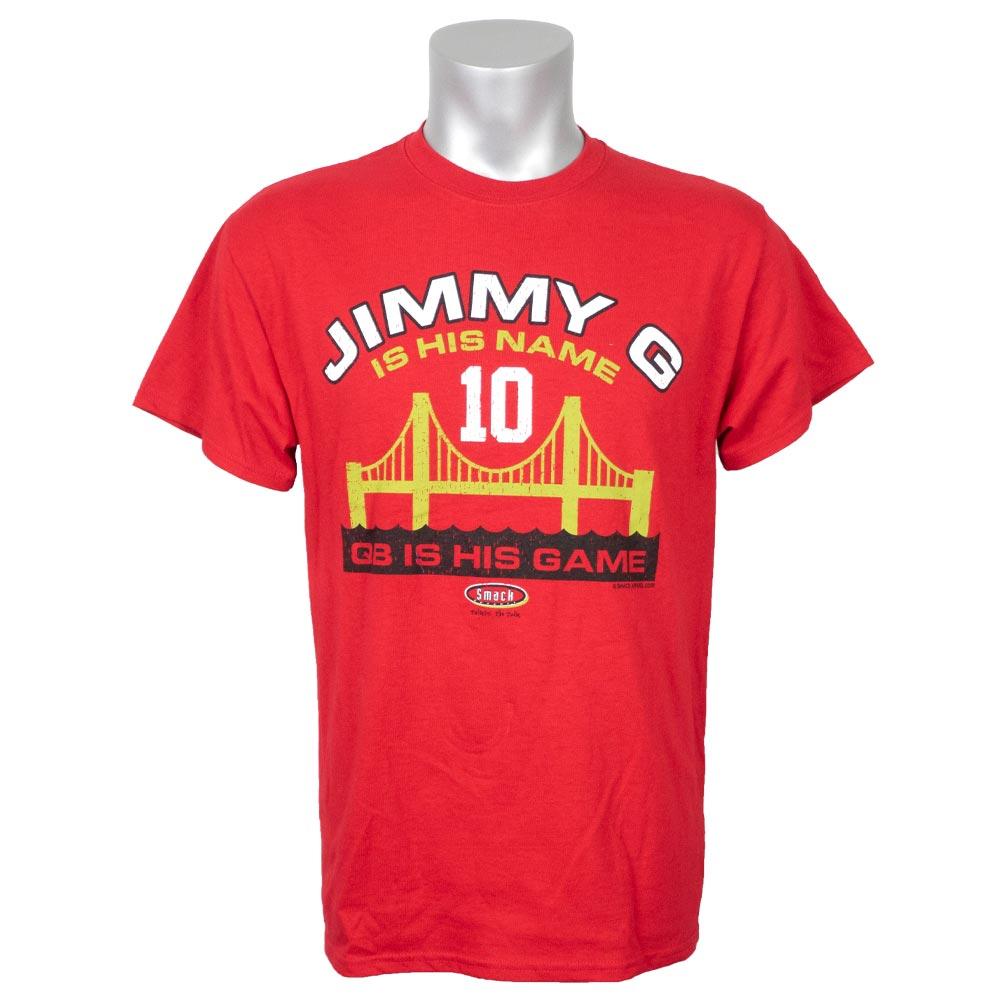 NFL 49ers ジミー・ガロポロ Tシャツ ジミー G【1910価格変更】