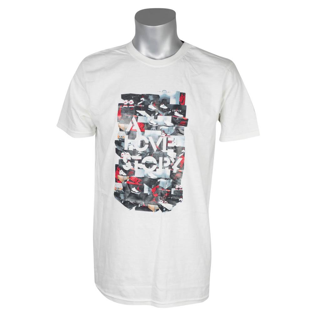 ナイキ ジョーダン/NIKE JORDAN Tシャツ ラブストーリー ホワイト 327835-100 レアアイテム