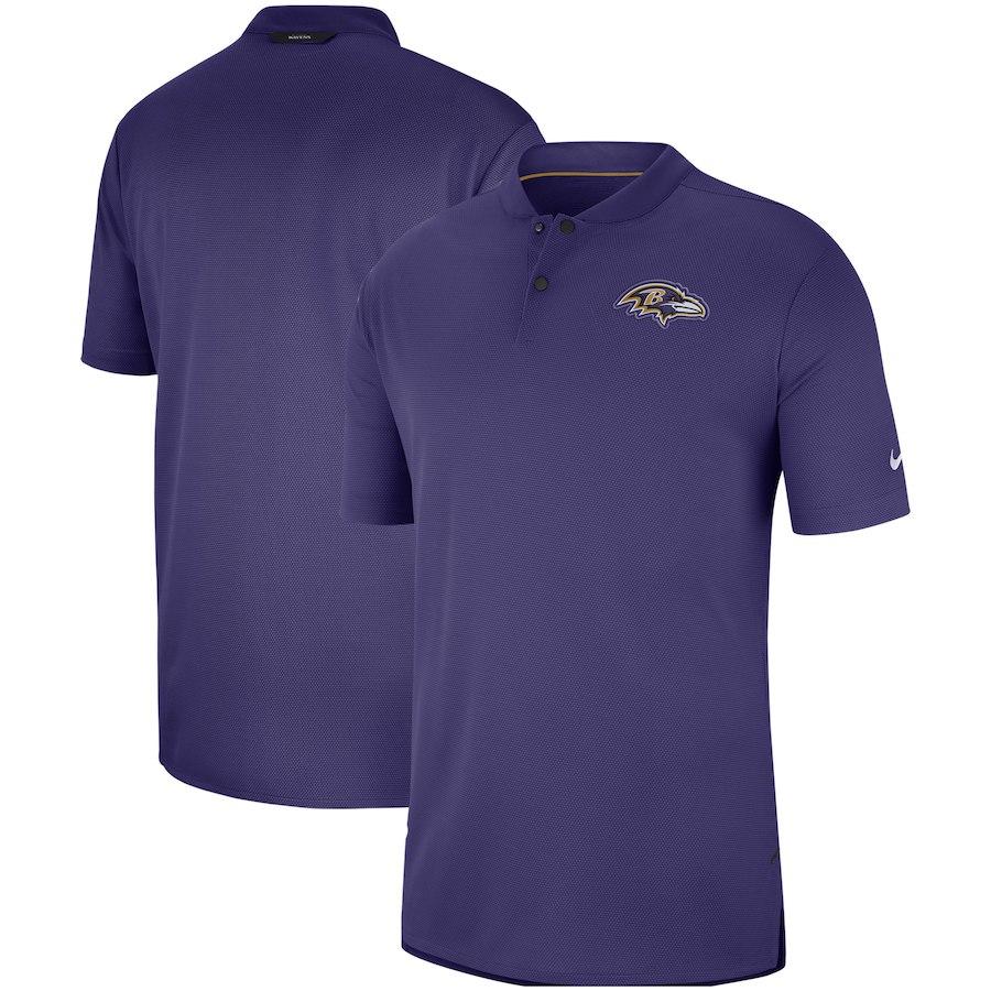 お取り寄せ NFL レイブンズ ポロシャツ サイドライン エリート コーチズ ナイキ/Nike