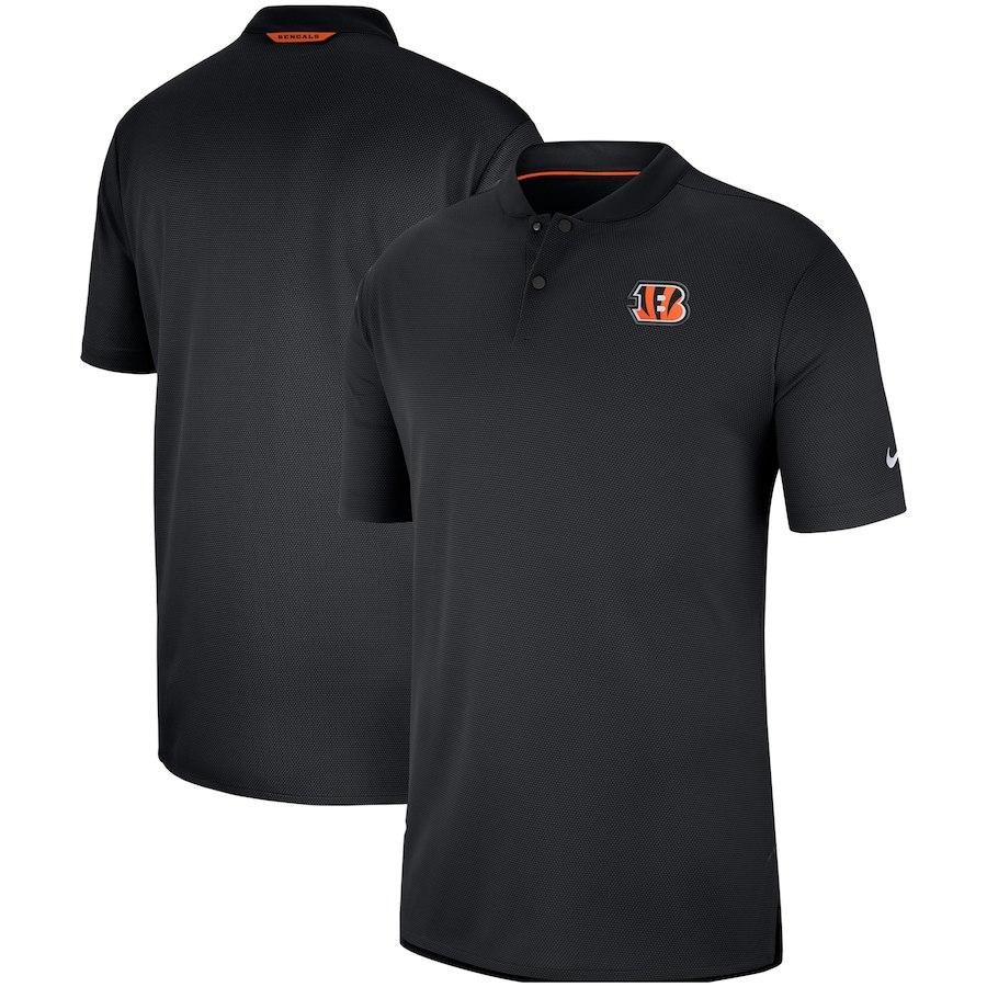 お取り寄せ NFL ベンガルズ ポロシャツ サイドライン エリート コーチズ ナイキ/Nike