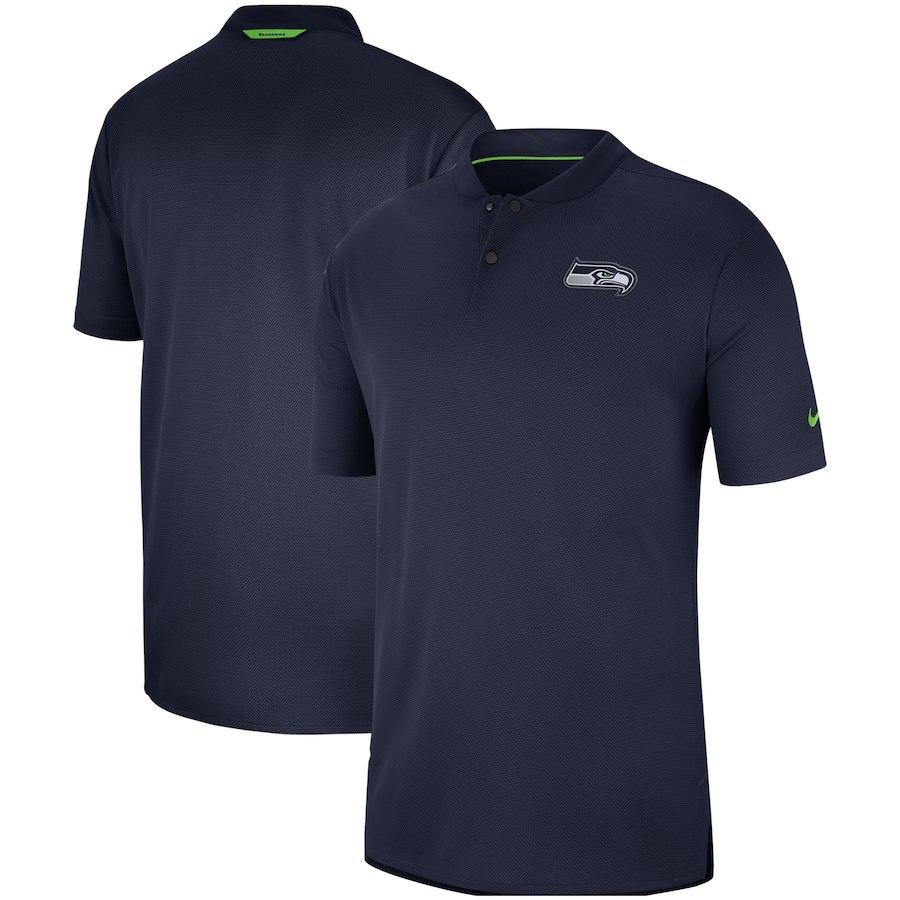 お取り寄せ NFL シーホークス ポロシャツ サイドライン エリート コーチズ ナイキ/Nike