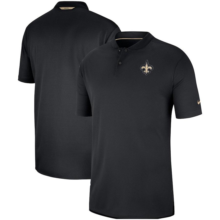 お取り寄せ NFL セインツ ポロシャツ サイドライン エリート コーチズ ナイキ/Nike