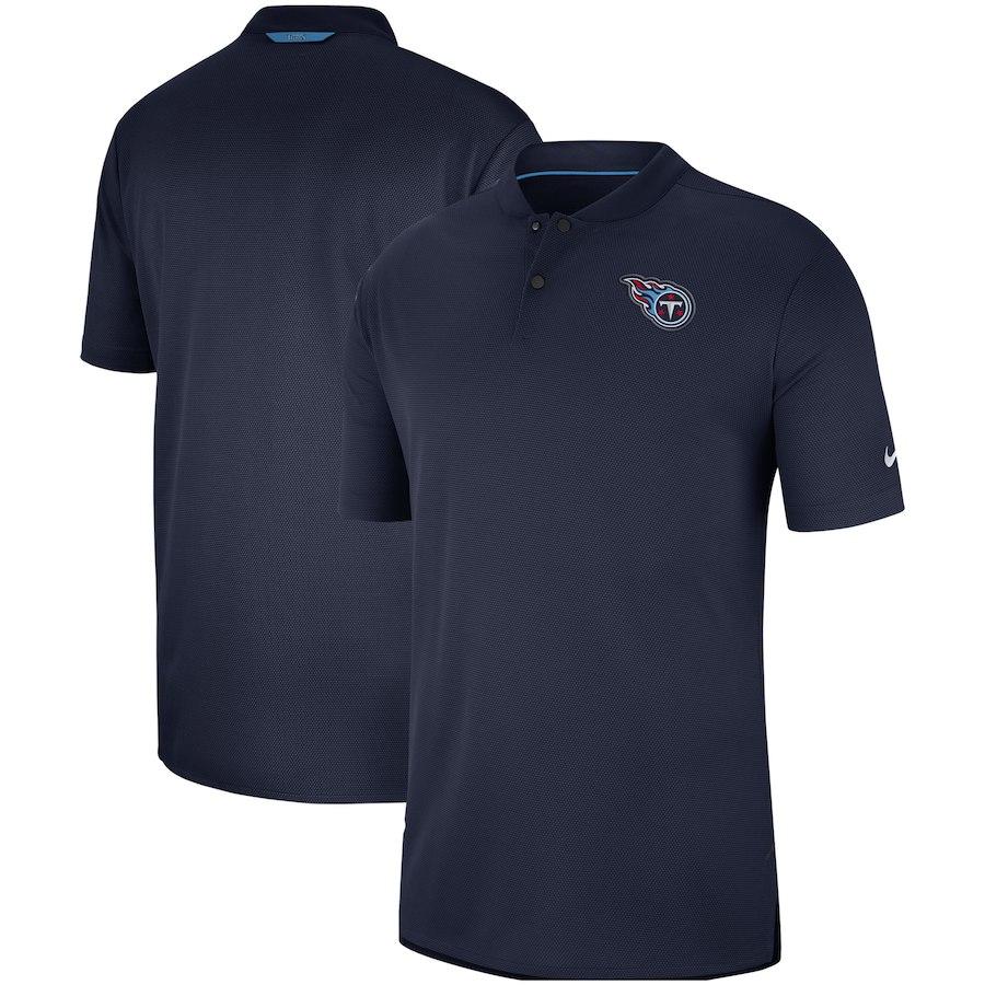 お取り寄せ NFL タイタンズ ポロシャツ サイドライン エリート コーチズ ナイキ/Nike