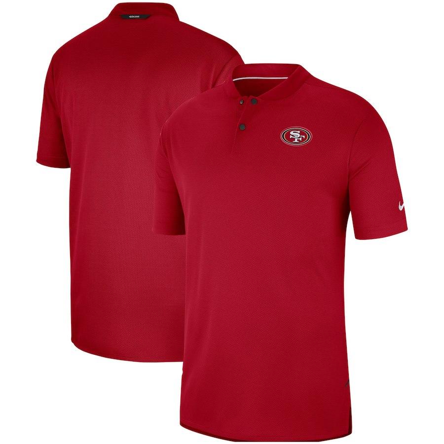 お取り寄せ NFL 49ers ポロシャツ サイドライン エリート コーチズ ナイキ/Nike