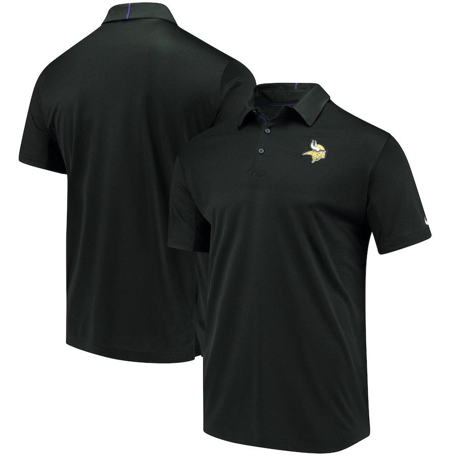 お取り寄せ NFL バイキングス ポロシャツ サイドライン エリート コーチズ チームカラー ナイキ/Nike