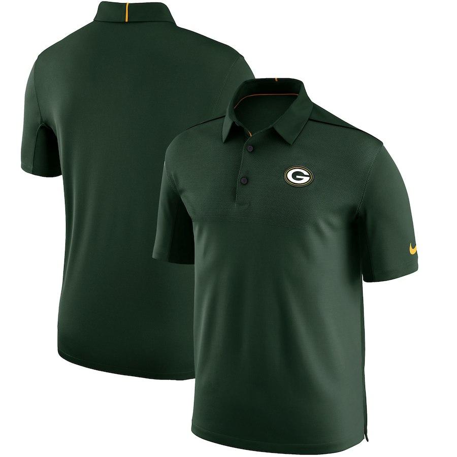お取り寄せ NFL パッカーズ ポロシャツ サイドライン エリート コーチズ チームカラー ナイキ/Nike