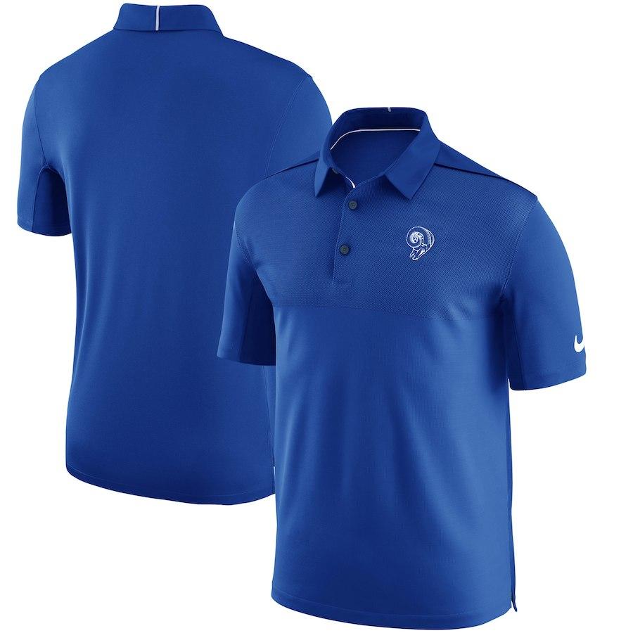 お取り寄せ NFL ラムズ ポロシャツ サイドライン オルタネートロゴ ナイキ/Nike
