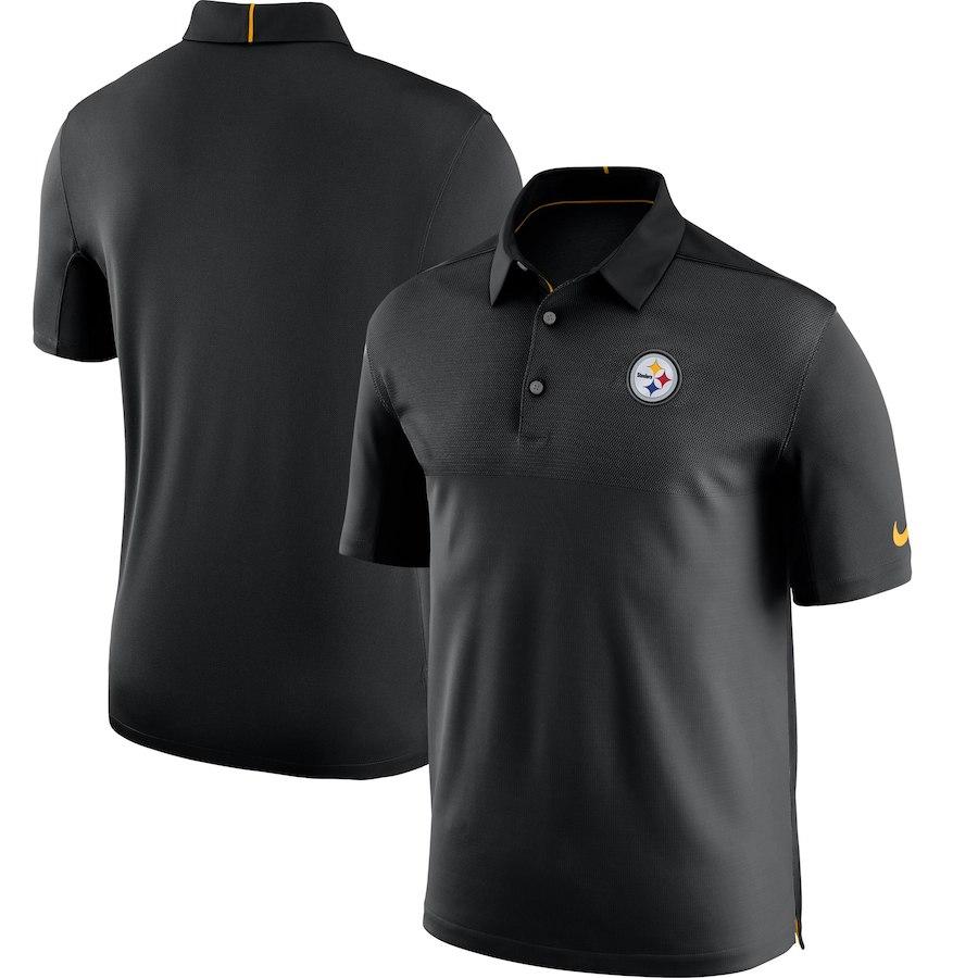 お取り寄せ NFL スティーラーズ ポロシャツ サイドライン エリート コーチズ チームカラー ナイキ/Nike