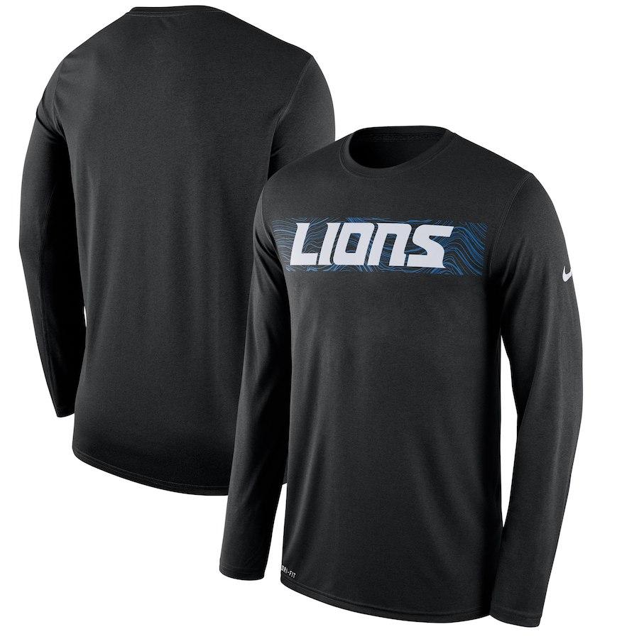 お取り寄せ NFL ライオンズ Tシャツ ロング/長袖 サイドライン レジェンド ナイキ/Nike
