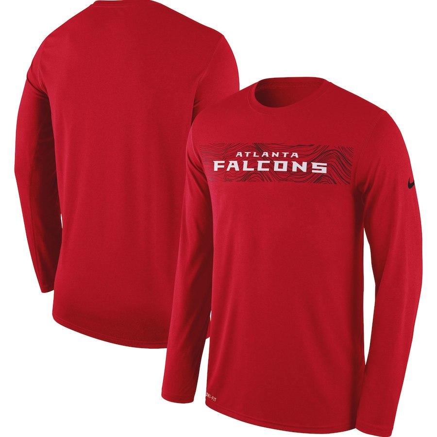 お取り寄せ NFL ファルコンズ Tシャツ ロング/長袖 サイドライン レジェンド ナイキ/Nike