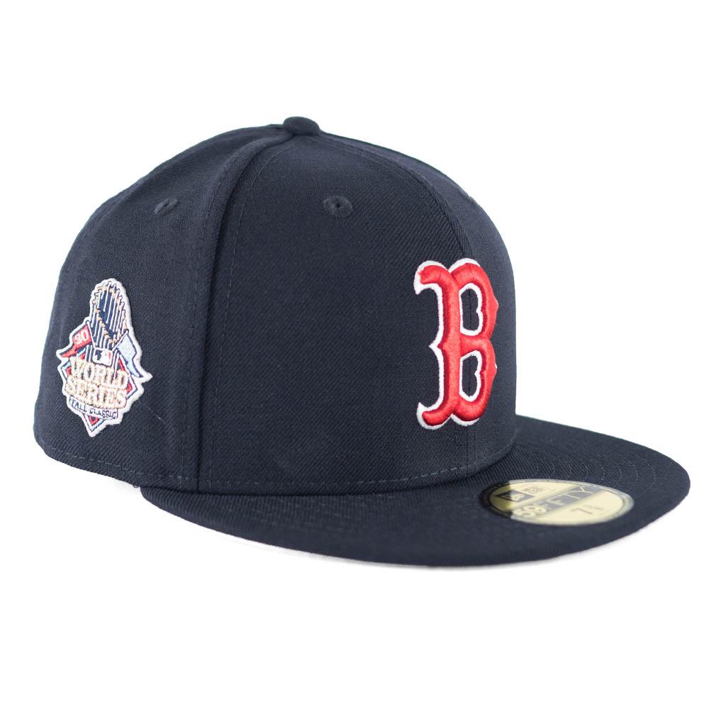 6a0bb02ec MLB Red Sox cap / hat World Series patch 2013 new gills /New Era navy ...