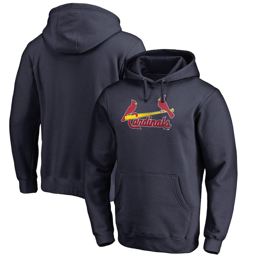 お取り寄せ MLB カージナルス パーカー/フーディー チーム ワードマーク ネイビー