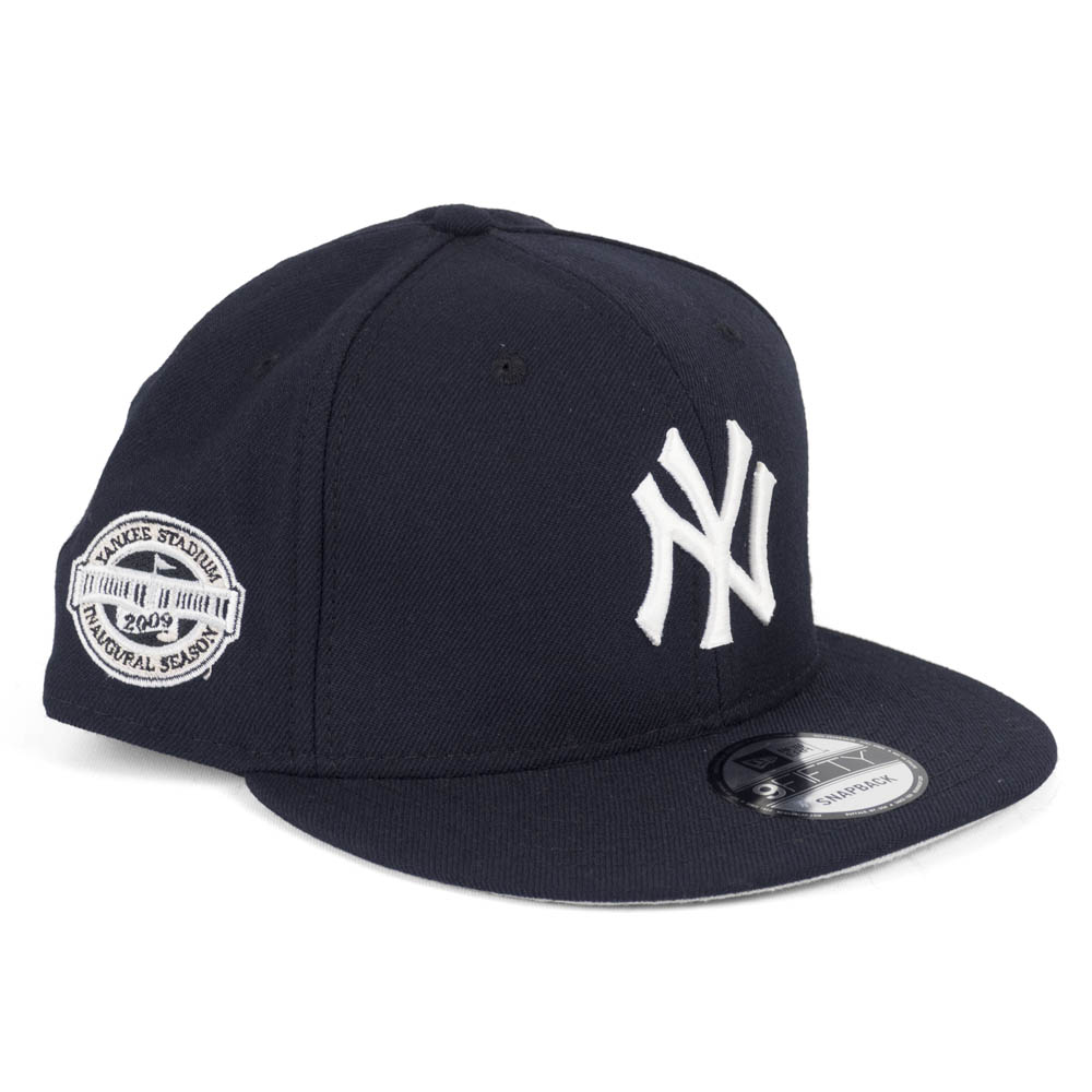 MLB ヤンキース キャップ/帽子 2009 新ヤンキースタジアム 記念 #55 ニューエラ/New Era ネイビー