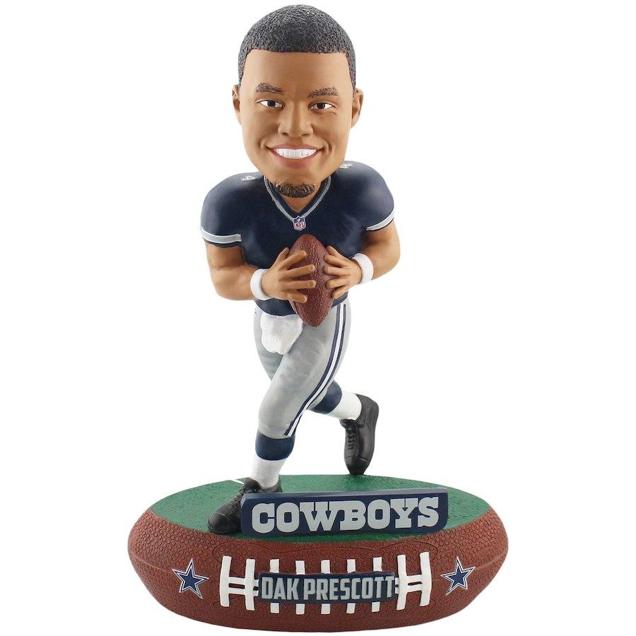 お取り寄せ NFL カウボーイズ ダック・プレスコット フィギュア プレーヤー ボブルヘッド