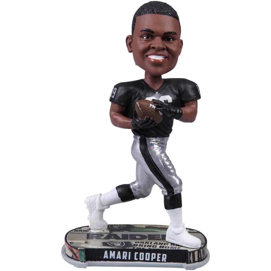 お取り寄せ NFL レイダース アマリ・クーパー フィギュア プレーヤー ボブルヘッド