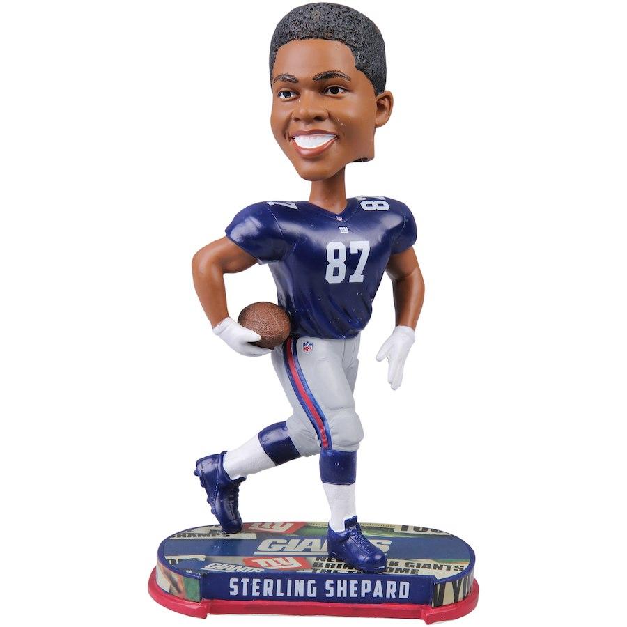 お取り寄せ NFL ジャイアンツ スターリング・シェパード フィギュア プレーヤー ボブルヘッド