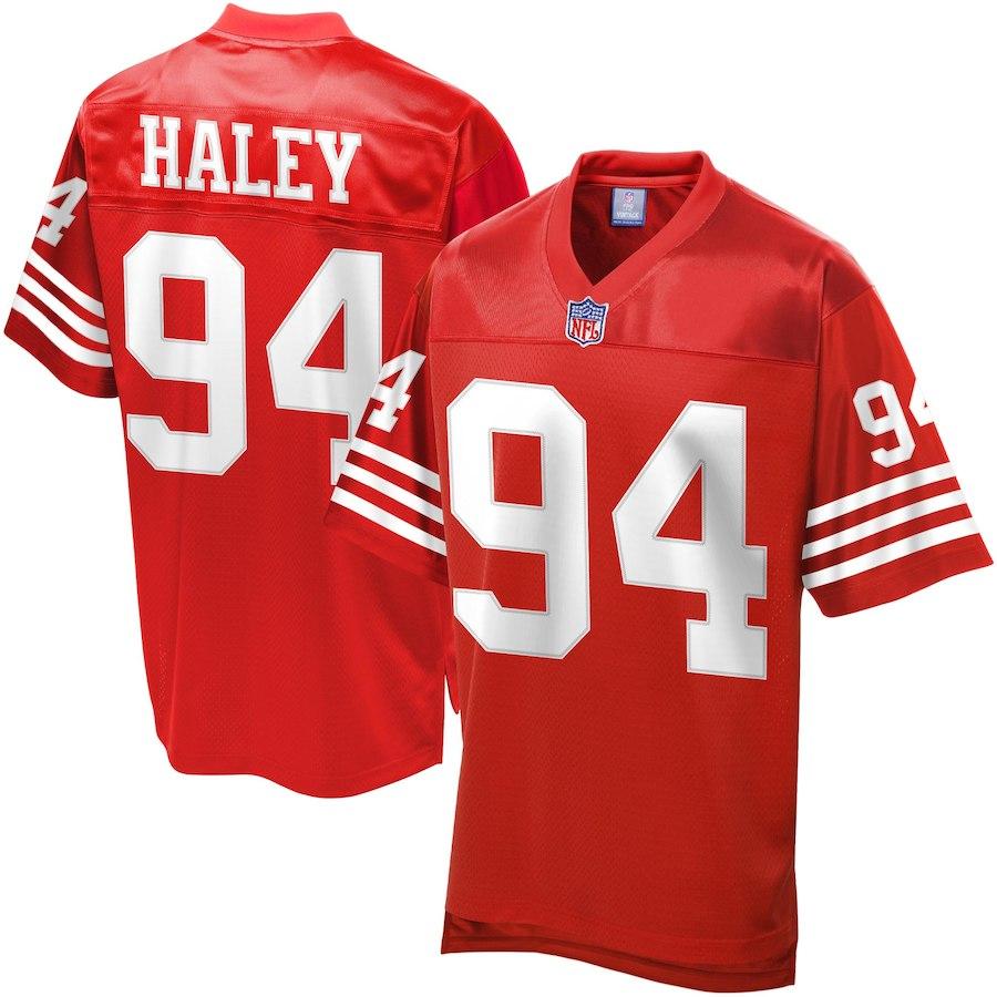 お取り寄せ NFL 49ers チャールズ・ヘイリー ユニフォーム/ジャージ レジェンド プレーヤー