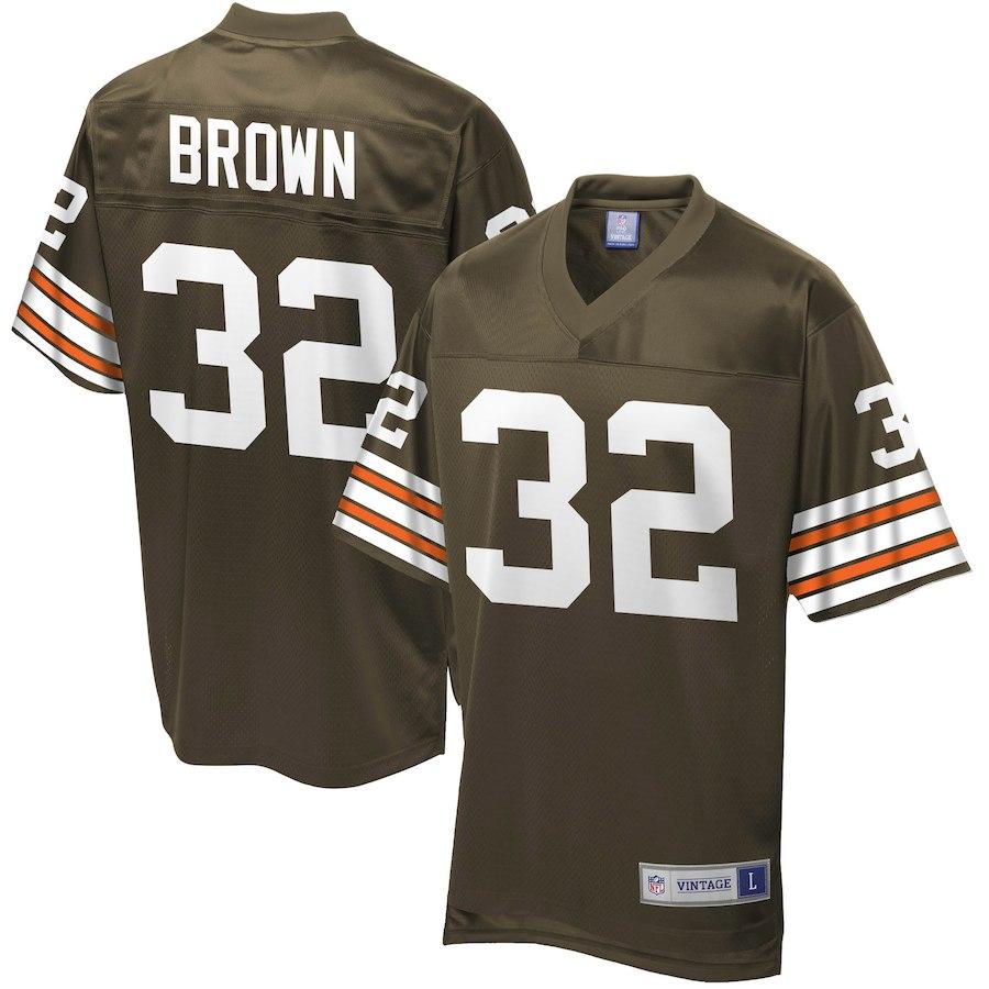 お取り寄せ NFL ブラウンズ ジム・ブラウン ユニフォーム/ジャージ レジェンド プレーヤー