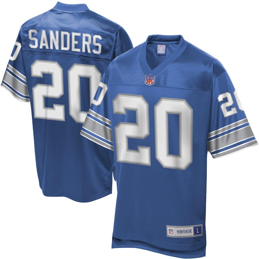 NFL ライオンズ バリー・サンダース ユニフォーム/ジャージ レジェンド プレーヤー