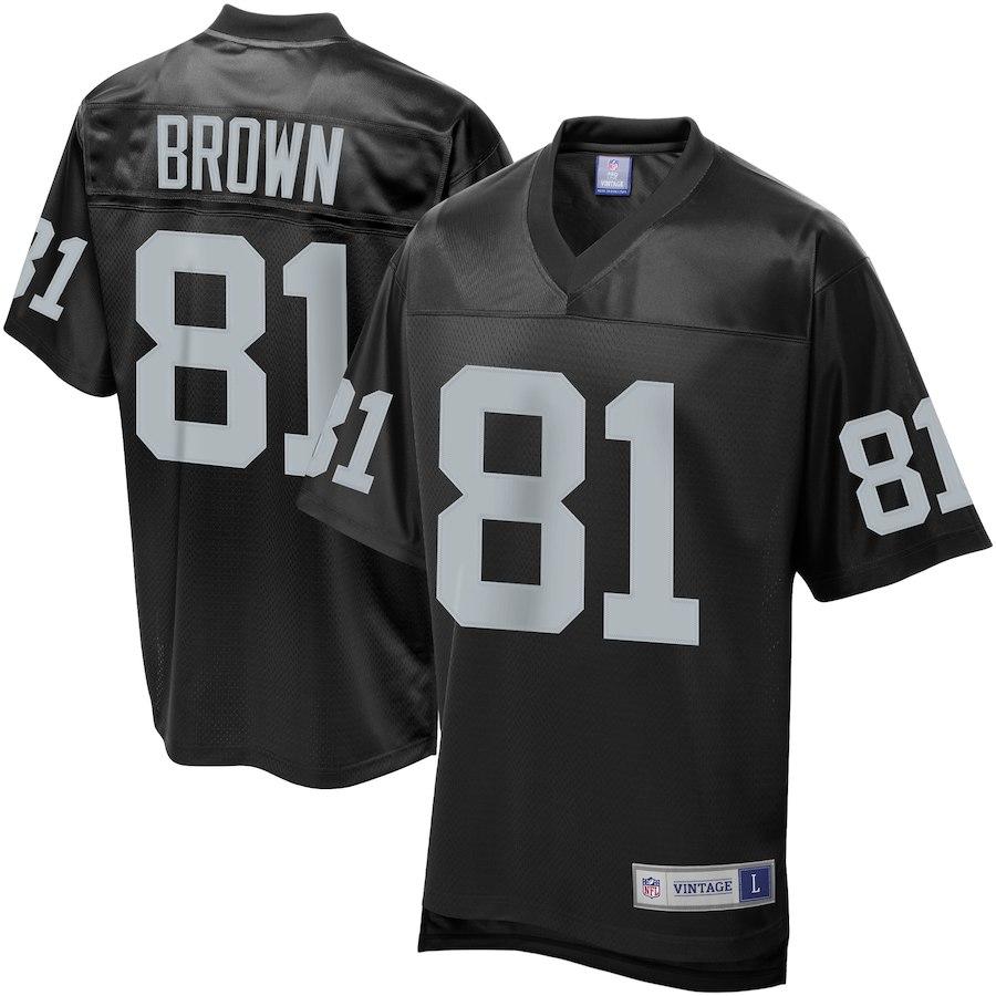 お取り寄せ NFL レイダース ティム・ブラウン ユニフォーム/ジャージ レジェンド プレーヤー