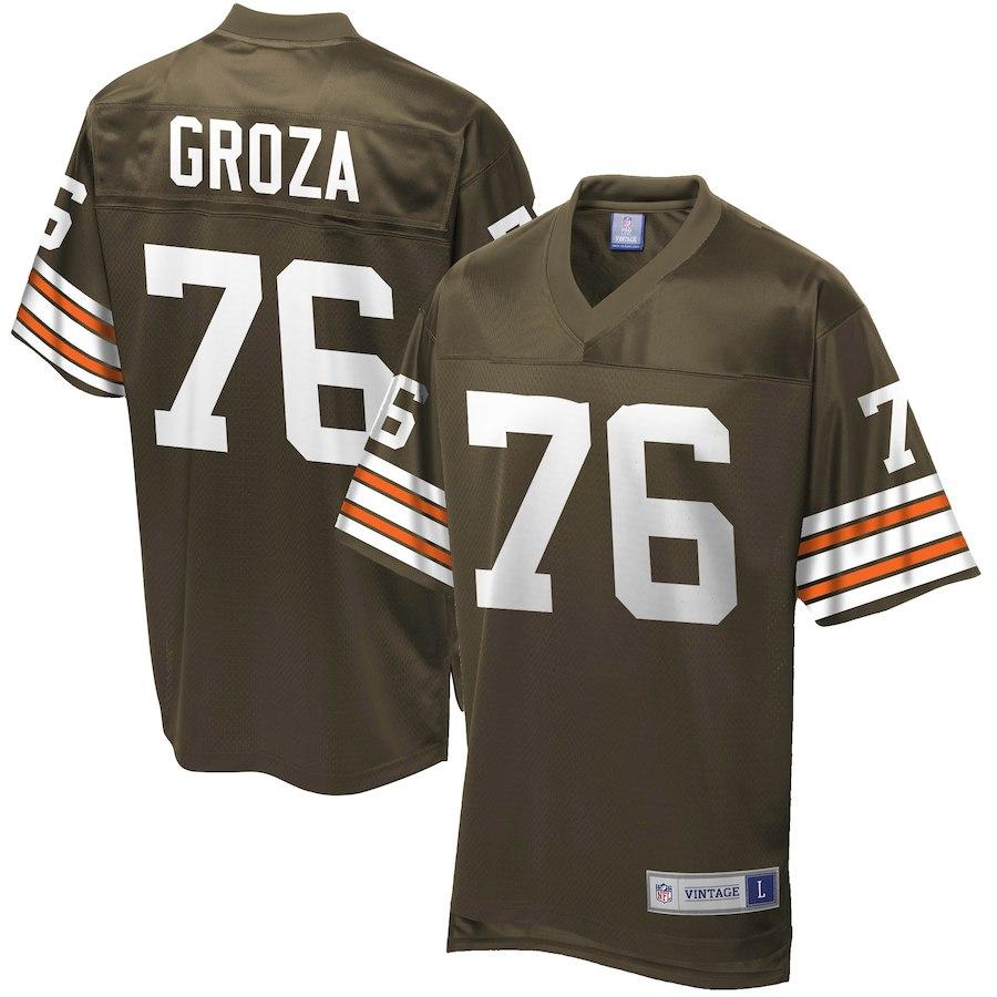 お取り寄せ NFL ブラウンズ ルー・グローザ ユニフォーム/ジャージ レジェンド プレーヤー