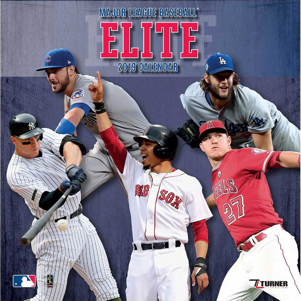 Mlb Calendar 2019 MLB NBA NFL Goods Shop: Reservation MLB 2019 all stars player