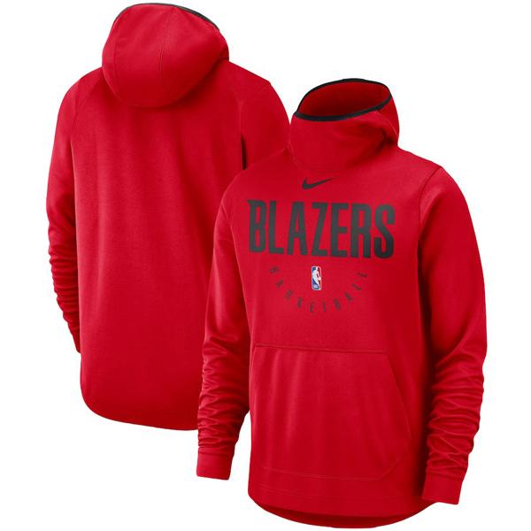お取り寄せ NBA トレイルブレイザーズ パーカー/フーディー スポットライト パフォーマンス ナイキ/Nike レッド
