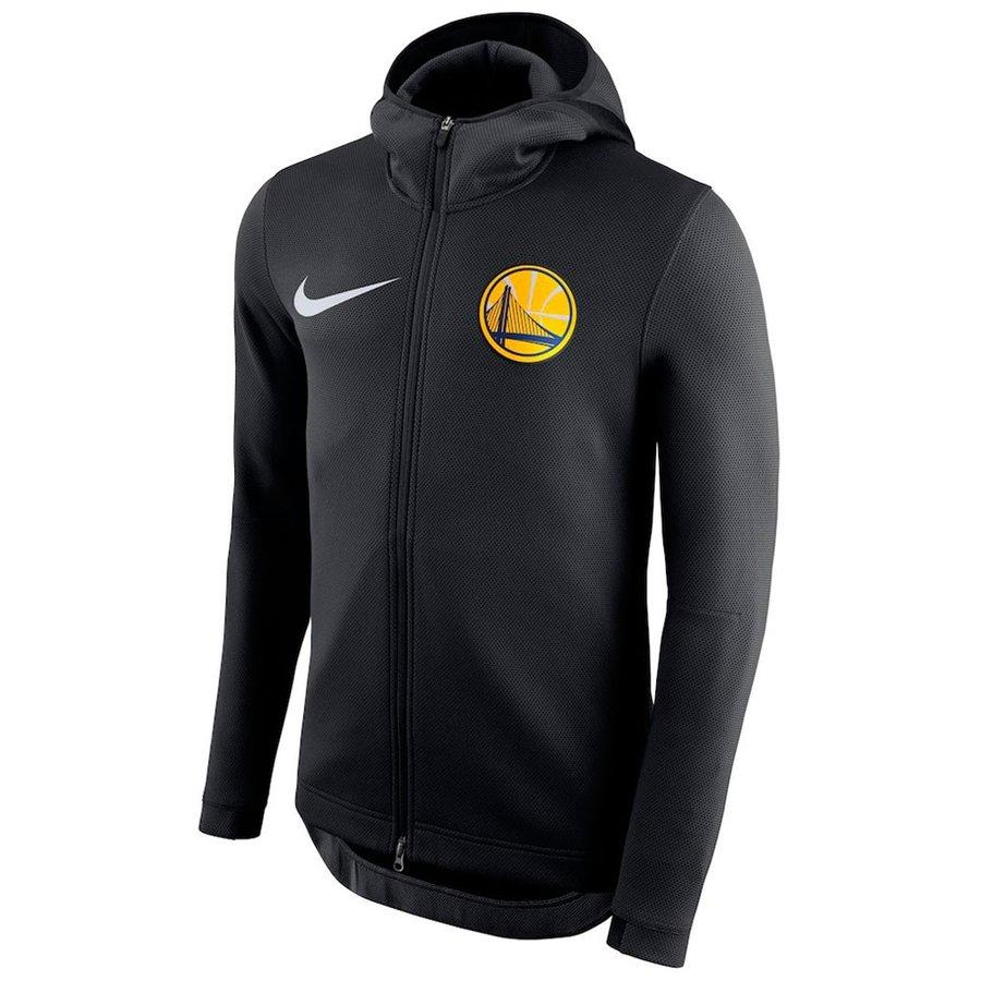 NBA ウォリアーズ パーカー/フーディー フルジップ THRMA FLX ショータイム ナイキ/Nike ブラック 940129-011