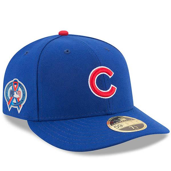 お取り寄せ MLB カブス キャップ/帽子 9/11追悼 選手着用 2018 ロークラウン ニューエラ/New Era