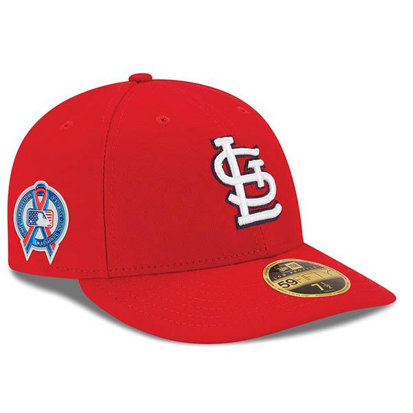 お取り寄せ MLB カージナルス キャップ/帽子 9/11追悼 選手着用 2018 ロークラウン ニューエラ/New Era