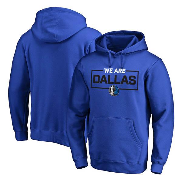 お取り寄せ NBA マーベリックス パーカー/フーディー ウィーアー アイコニック コレクション ブルー