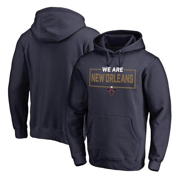 お取り寄せ NBA ペリカンズ パーカー/フーディー ウィーアー アイコニック コレクション ネイビー