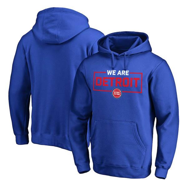 お取り寄せ NBA ピストンズ パーカー/フーディー ウィーアー アイコニック コレクション ブルー
