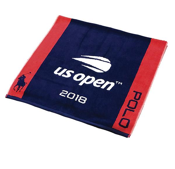 お取り寄せ プレーヤータオル 2018 全米オープン/USオープン テニス 日付入り
