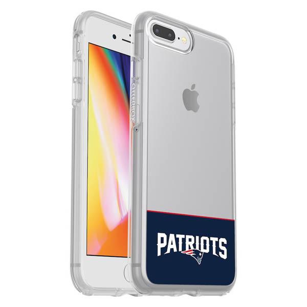 お取り寄せ NFL ペイトリオッツ iPhone ケース/カバー クリア シンメトリー 海外限定 OtterBox
