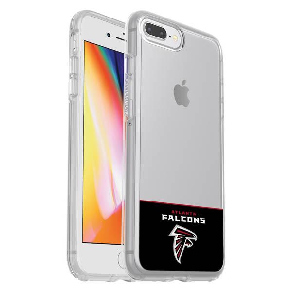 お取り寄せ NFL ファルコンズ iPhone ケース/カバー クリア シンメトリー 海外限定 OtterBox
