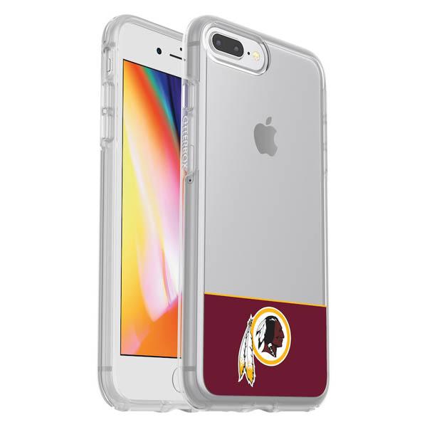 お取り寄せ NFL レッドスキンズ iPhone ケース/カバー クリア シンメトリー 海外限定 OtterBox