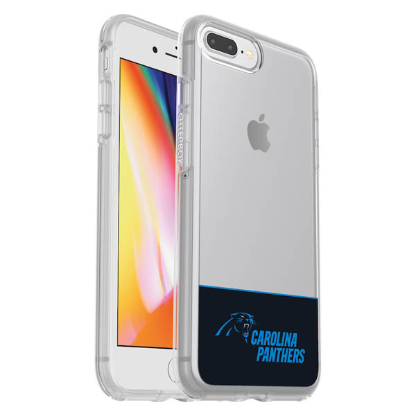 お取り寄せ NFL パンサーズ iPhone ケース/カバー クリア シンメトリー 海外限定 OtterBox