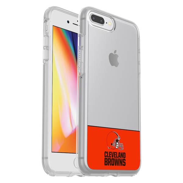 お取り寄せ NFL ブラウンズ iPhone ケース/カバー クリア シンメトリー 海外限定 OtterBox