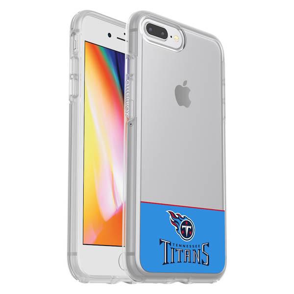 お取り寄せ NFL タイタンズ iPhone ケース/カバー クリア シンメトリー 海外限定 OtterBox