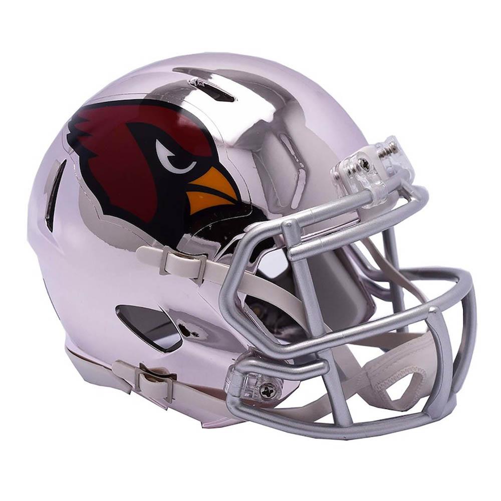 NFL カーディナルス ミニ ヘルメット フットボール クローム オルタネート スピード リデル/Riddell【1910価格変更】