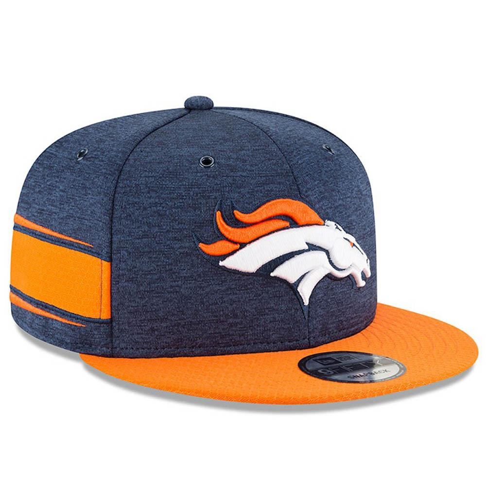 NFL ブロンコス キャップ/帽子 2018 サイドライン 9FIFTY アジャスタブル ニューエラ/New Era ホーム【1910価格変更】【191028変更】