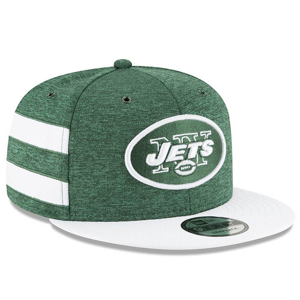 NFL ジェッツ キャップ/帽子 2018 サイドライン 9FIFTY アジャスタブル ニューエラ/New Era ホーム【1910価格変更】【191028変更】