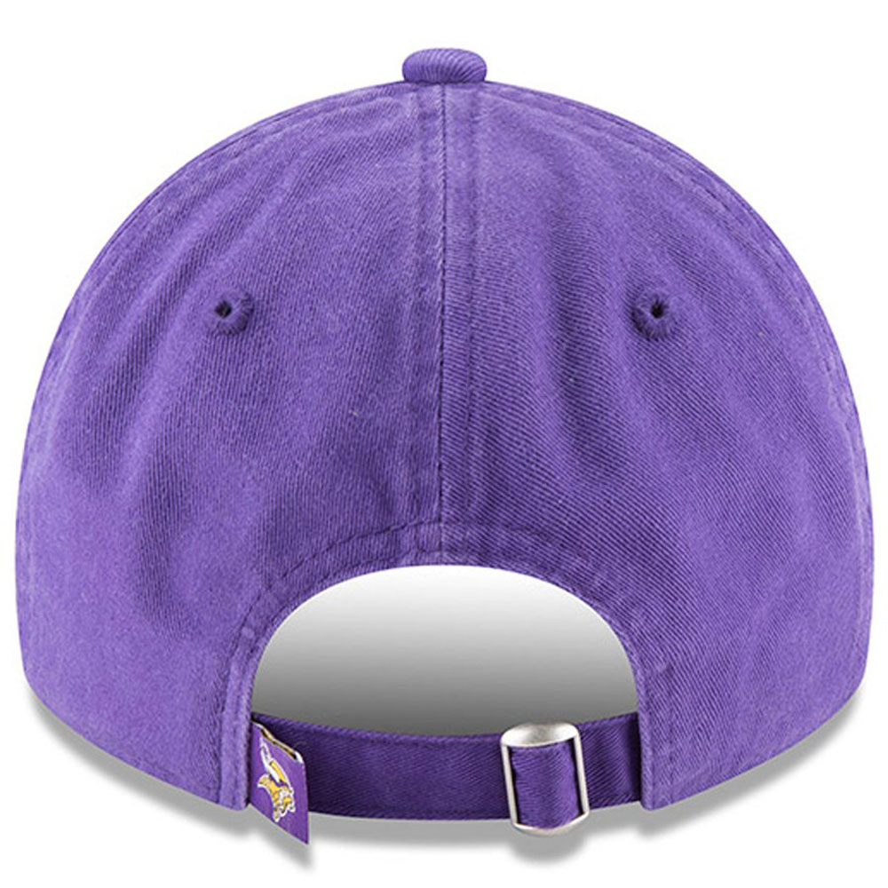 NFL Vikings cap   hat core classical music adjuster bulldog new gills  New  Era purple 804ebfdd161