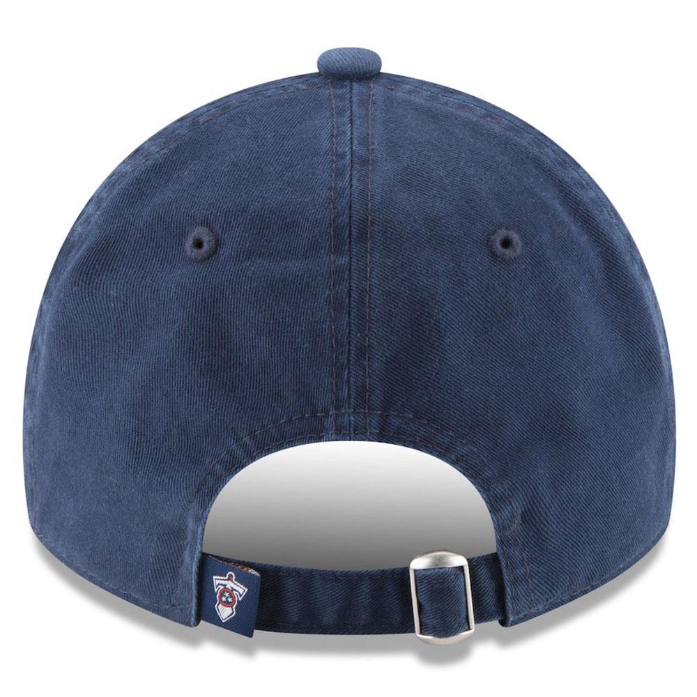c78ea22e4675da ... NFL Titans cap / hat core classical music adjuster bulldog new gills /New  Era navy