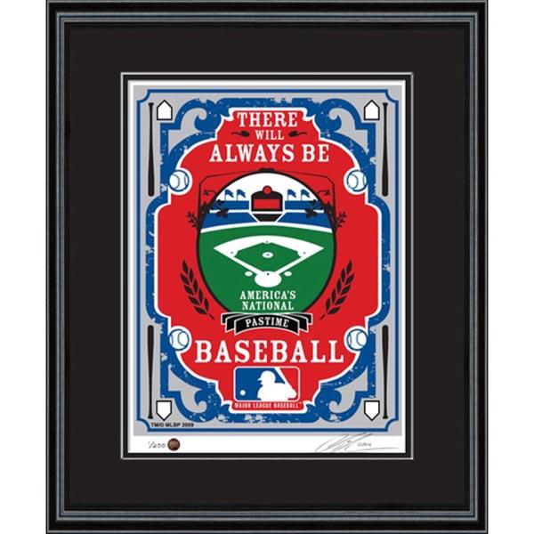 お取り寄せ MLB シルクスクリーン アート インテリア