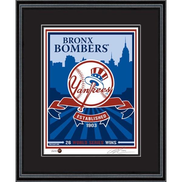 お取り寄せ MLB ヤンキース シルクスクリーン アート インテリア