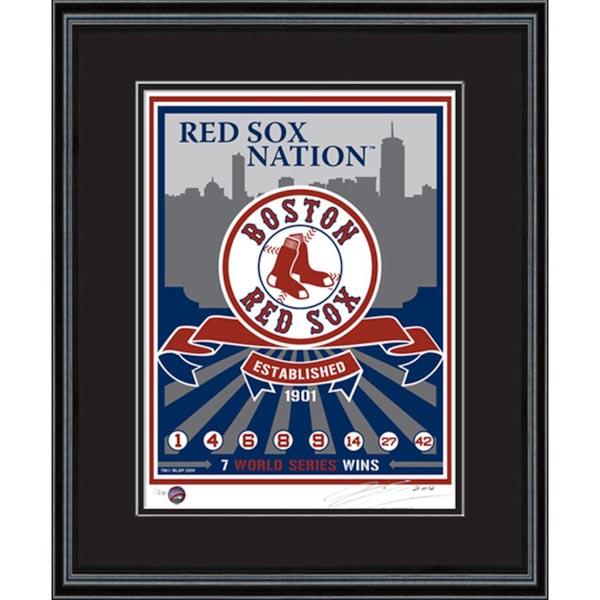 お取り寄せ MLB レッドソックス シルクスクリーン アート インテリア