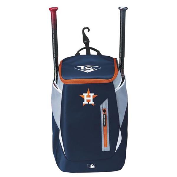 MLB アストロズ 野球専用 バックパック/リュック ルイスビル スラッガー/Louisville Slugger