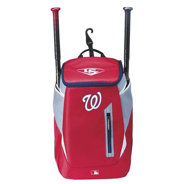 MLB ナショナルズ 野球専用 バックパック/リュック ルイスビル スラッガー/Louisville Slugger